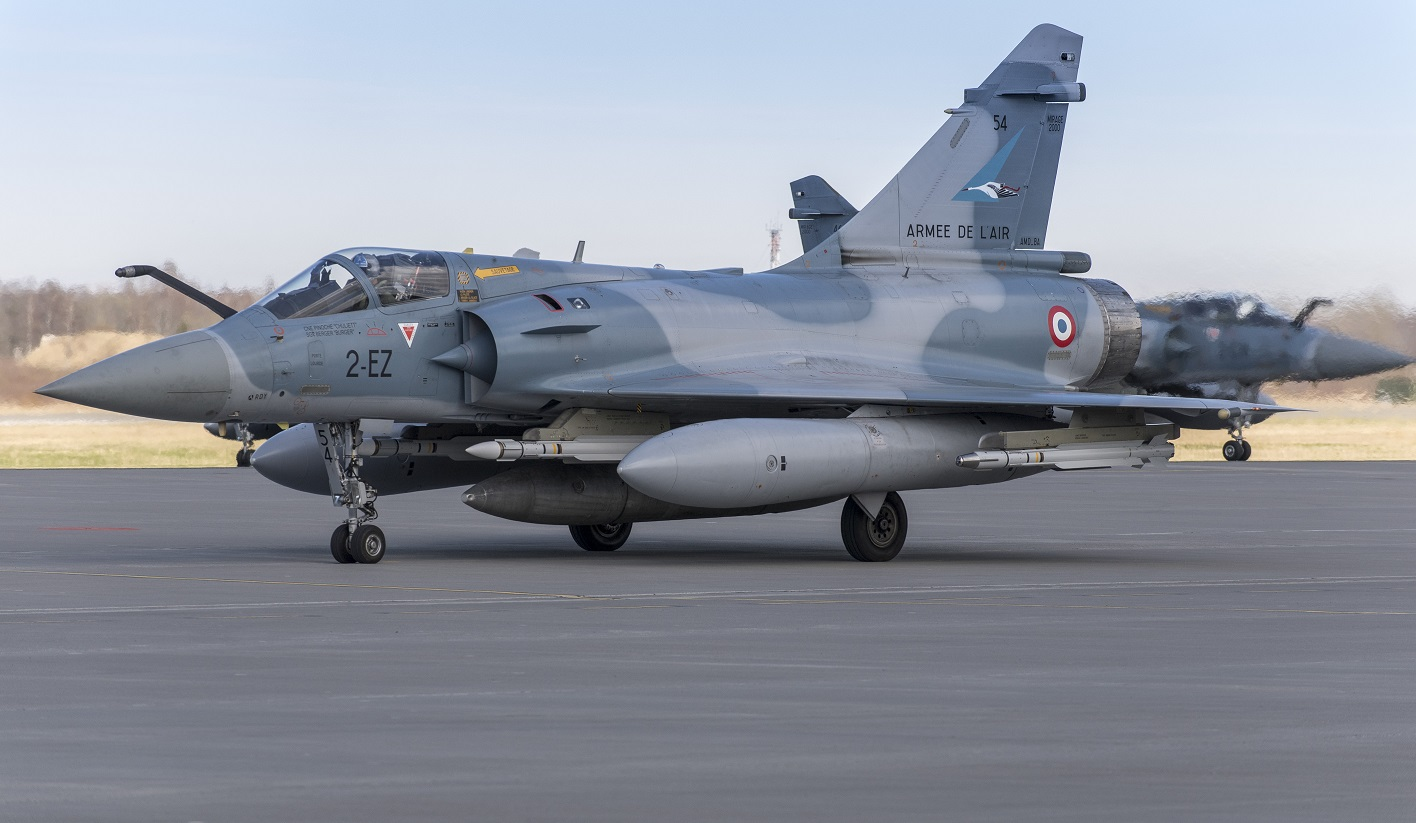 Launch of the enhanced 2018 Air Policing mission (30 April