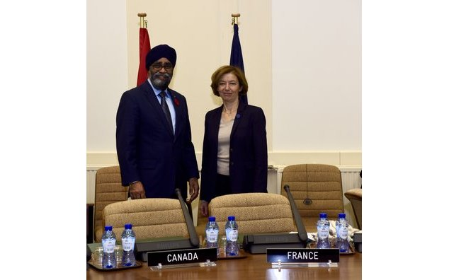 Meeting with Harjit Sajjan, Defense minister of Canada