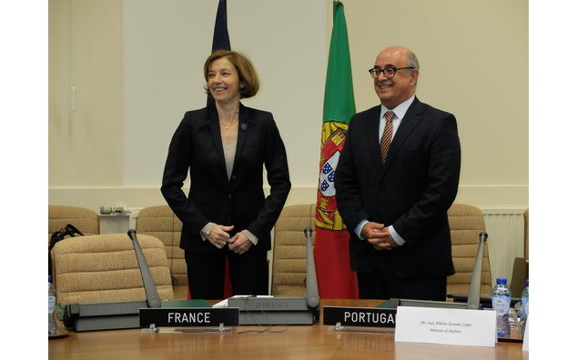 Meeting with José Alberto Azeredo Lopes, Defence minister of Portugal