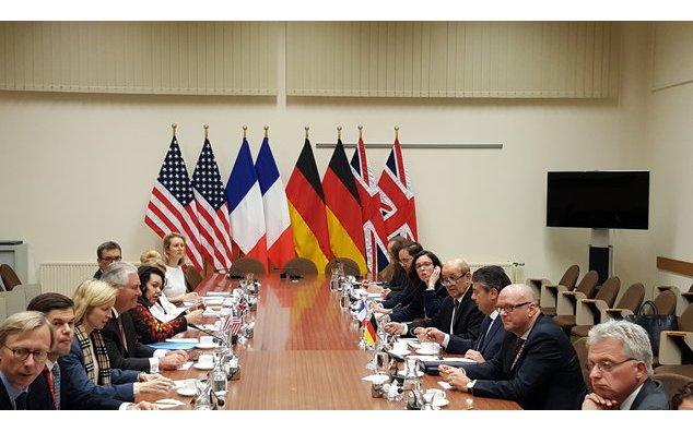 Meeting of Mr. Le Drian with his German, British and US counterparts