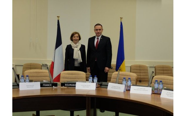 Meeting with Mihai-Viorel Fifor, Defence minister of Romania