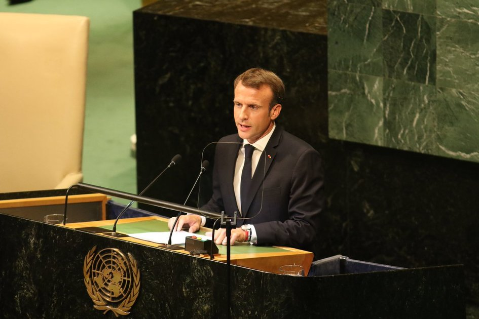 President Emmanuel Macron S Speech At The Un General Assembly 25 September France Nato